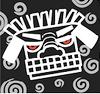 滋賀県彦根市の美容院ブブの公式LINEロゴ